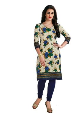 Buy Padmini Unstitched Printed Cotton Kurti Fabrics (product Code - Dtafcoolcot2104) online