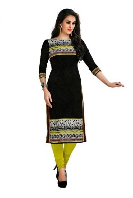 Buy Padmini Unstitched Printed Cotton Kurti Fabrics (product Code - Dtafcoolcot2106) online