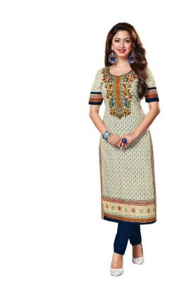 Buy Padmini Unstitched Printed Cotton Kurti Fabrics (product Code -dtkakavya1106) online