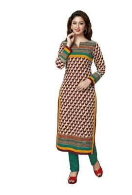 Buy Padmini Unstitched Printed Cotton Kurti Fabrics (product Code -dtkakavya1107) online
