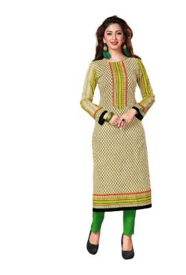 Buy Padmini Unstitched Printed Cotton Kurti Fabrics (product Code -dtkakavya1110) online