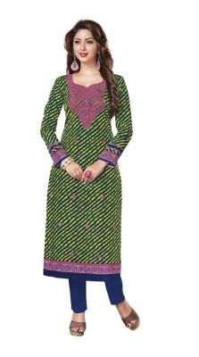 Buy Padmini Unstitched Printed Cotton Kurti Fabrics (product Code -dtkakavya1111) online