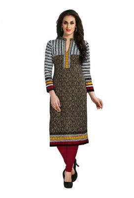Buy Padmini Unstitched Printed Cotton Kurti Fabrics (product Code - Dtafcoolcot2112) online