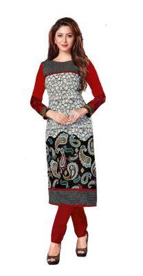 Buy Padmini Unstitched Printed Cotton Kurti Fabrics (product Code -dtkakavya1152) online