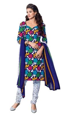 Buy Padmini Unstitched Printed Cotton Dress Materials Fabrics (product Code - Dtbjaroma3140) online