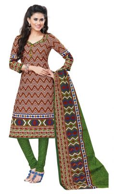 Buy Padmini Unstitched Printed Cotton Dress Materials Fabrics (product Code - Dtvcshrutika2004) online