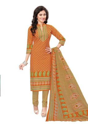Buy Padmini Unstitched Printed Cotton Dress Materials Fabrics (product Code - Dtvcshrutika2006) online
