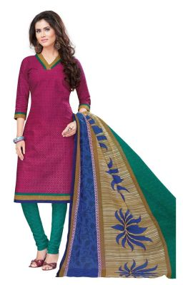 Buy Padmini Unstitched Printed Cotton Dress Materials Fabrics (product Code - Dtvcshrutika2009) online