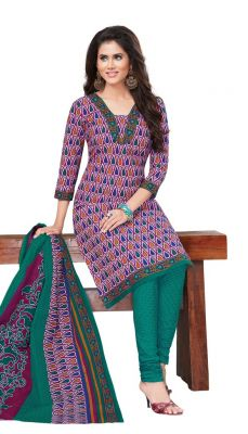Buy Padmini Unstitched Printed Cotton Dress Materials Fabrics (product Code - Dtvcshrutika2015) online