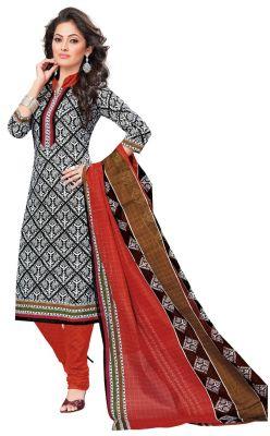 Buy Padmini Unstitched Printed Cotton Dress Materials Fabrics (product Code - Dtvcshrutika2018) online