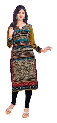 Buy Padmini Unstitched Printed Cotton Kurti Fabrics (product Code - Dtkapriya2157) online