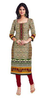 Buy Padmini Unstitched Printed Cotton Kurti Fabrics (product Code - Dtkapriya2163) online