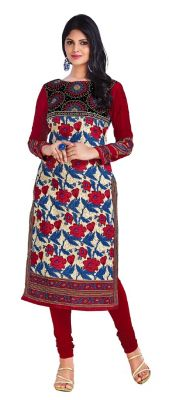 Buy Padmini Unstitched Printed Cotton Kurti Fabrics (product Code - Dtkapriya2165) online