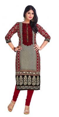 Buy Padmini Unstitched Printed Cotton Kurti Fabrics (product Code - Dtkapriya2166) online