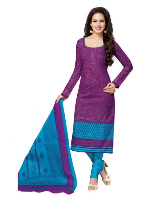 Buy Padmini Unstitched Printed Cotton Dress Materials Fabrics (product Code - Dtvcsonpari2505) online