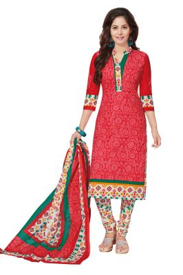 Buy Padmini Unstitched Printed Cotton Dress Materials Fabrics (product Code - Dtafspl2607) online
