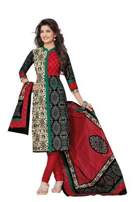 Buy Padmini Unstitched Printed Cotton Dress Materials Fabrics (product Code - Dtafspl2609) online