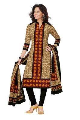 Buy Padmini Unstitched Printed Cotton Dress Materials Fabrics (product Code - Dtafspl2612) online