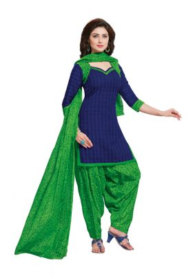 Buy Padmini Unstitched Printed Cotton Dress Material (product Code - Dtafmahi2707) online
