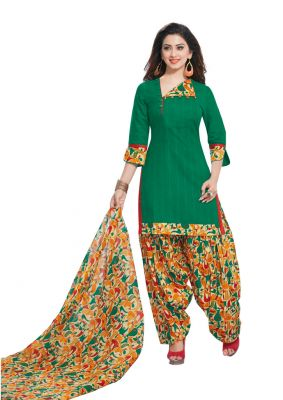 Buy Padmini Unstitched Printed Cotton Dress Material (product Code - Dtafmahi2708) online