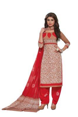 Buy Padmini Unstitched Printed Cotton Dress Material (product Code - Dtafbattik2760) online