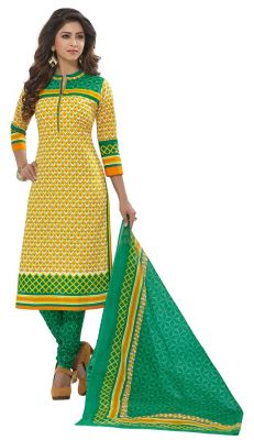 Buy Padmini Unstitched Printed Cotton Dress Materials Fabrics (product Code - Dtafspl2909) online