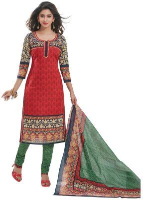 Buy Padmini Unstitched Printed Cotton Dress Materials Fabrics (product Code - Dtafspl2916) online