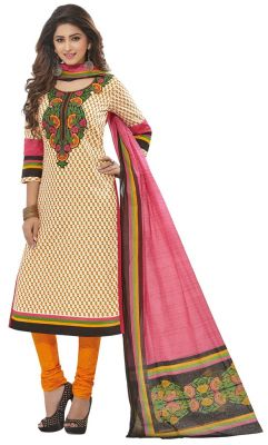 Buy Padmini Unstitched Printed Cotton Dress Materials Fabrics (product Code - Dtafspl2920) online