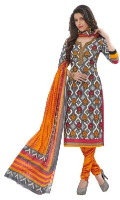 Buy Padmini Unstitched Printed Cotton Dress Materials Fabrics (product Code - Dtafspl2921) online