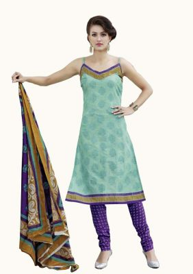 Buy Padmini Unstitched Printed Cotton Dress Material (product Code - Dtpcragini3002) online