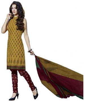 Buy Padmini Unstitched Printed Cotton Dress Material (product Code - Dtpcragini3012) online