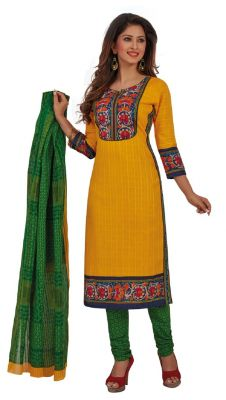 Buy Padmini Unstitched Printed Cotton Dress Materials Fabrics (product Code - Dtafrangresham3071) online