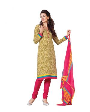 Buy Padmini Unstitched Printed Cotton Dress Materials Fabrics (product Code - Dtbjaroma3136) online
