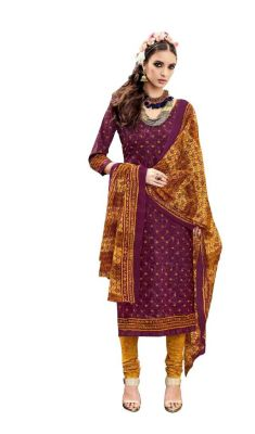 Buy Padmini Unstitched Printed Cotton Dress Material (product Code - Dtsjtrendy3415) online
