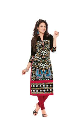 Buy Padmini Unstitched Printed Cotton Kurti Fabrics (product Code - Dtafsaheli1403) online