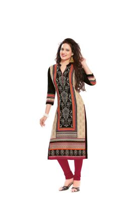 Buy Padmini Unstitched Printed Cotton Kurti Fabrics (product Code - Dtafsaheli1406) online