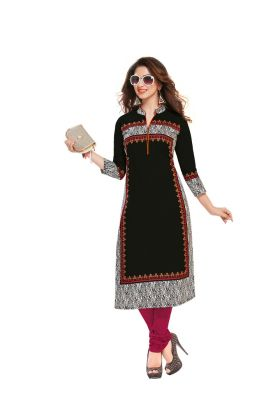 Buy Padmini Unstitched Printed Cotton Kurti Fabrics (product Code - Dtafsaheli1412) online