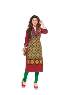 Buy Padmini Unstitched Printed Cotton Kurti Fabrics (product Code - Dtafsaheli1413) online