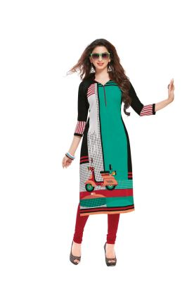 Buy Padmini Unstitched Printed Cotton Kurti Fabrics (product Code - Dtafsaheli1417) online