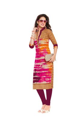 Buy Padmini Unstitched Printed Cotton Kurti Fabrics (product Code - Dtafsaheli1425) online
