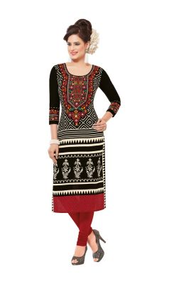 Buy Padmini Unstitched Printed Cotton Kurti Fabrics (product Code - Dtafsaheli1428) online