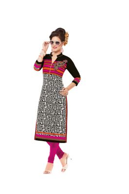 Buy Padmini Unstitched Printed Cotton Kurti Fabrics (product Code - Dtafsaheli1429) online
