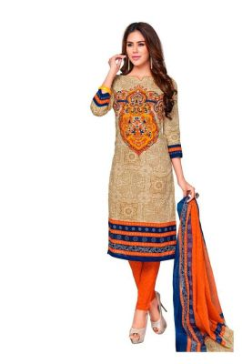 Buy Padmini Unstitched Printed Cotton Dress Material (product Code - Dtkashree4711) online