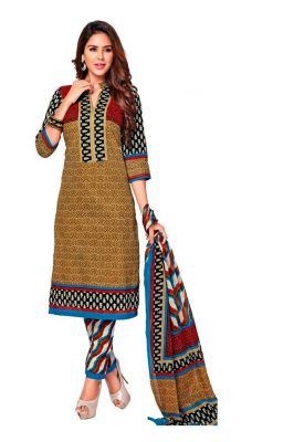 Buy Padmini Unstitched Printed Cotton Dress Material (product Code - Dtkashree4714) online