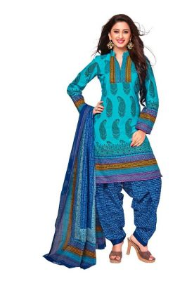 Buy Padmini Unstitched Printed Cotton Dress Material (product Code - Dtkashree4718) online