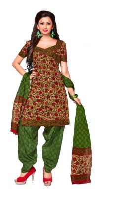 Buy Padmini Unstitched Printed Cotton Dress Material (product Code - Dtkashree4719) online