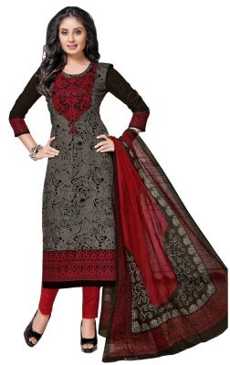 Buy Padmini Unstitched Printed Cotton Dress Material (product Code - Dtkashree4751) online