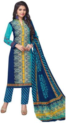 Buy Padmini Unstitched Printed Cotton Dress Material (product Code - Dtkashree4766) online
