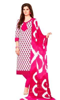 Buy Padmini Unstitched Printed Cotton Dress Material (product Code - Dtsjsuhana5002) online