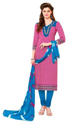 Buy Padmini Unstitched Printed Cotton Dress Material (product Code - Dtsjsuhana5005) online